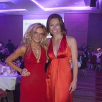 Geri Halliwell and Jecca Craig