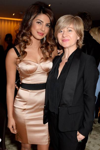 Priyanka Chopra and Lucinda Spera