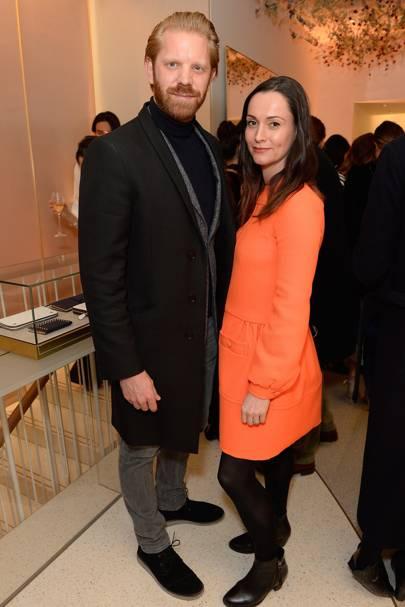 Alistair Guy and Hannah Nicholson