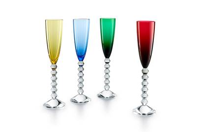 Baccarat champagne flutes