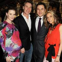 Lara Stone, Damian Aspinall, David Walliams and Tara Bernerd