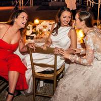 Rosie Money-Coutts, Francesca Shellim and Alexandra Carello