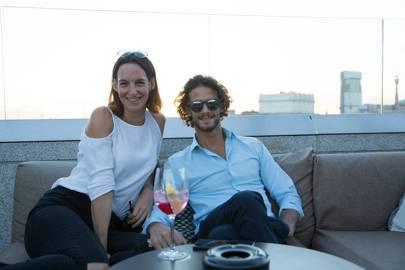 Elena Torode and Stefano Petruzzo