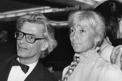 Richard Avedon and Renata Adler