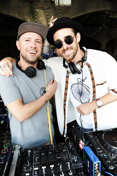 DJ Benny Blanco and DJ Ed Lewis Pratt