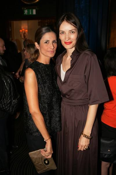 Livia Firth and Roksanda Ilincic