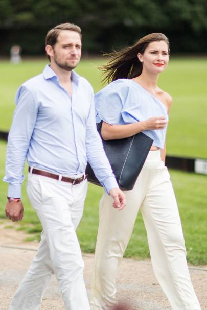 Christian van Maaren and Tanya Pineault