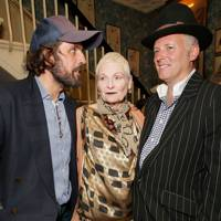 Andreas Kronthaler, Vivienne Westwood and Joe Corre