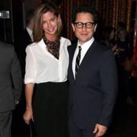 Katie McGrath and JJ Abrams