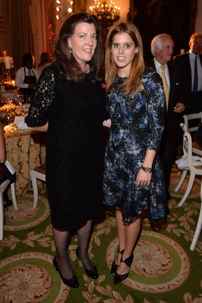 Lady Katherine Colquhoun and Princess Beatrice