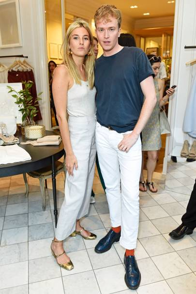 Camille Charriere and Fletcher Cowan