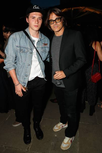 Brooklyn Beckham and Mario Sorrenti