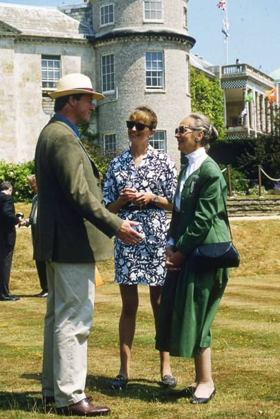 Roderick Balfour, Catherine Edgley and the Duchess of Richmond and Gordon