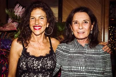 Clio Goldsmith and Vera Santo Domingo