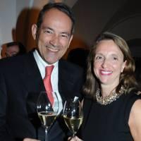 Bruno Paillard and Francoise Peretti