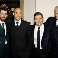 Matthew Beard, Allen Leech, Mark Strong and Charles Dance