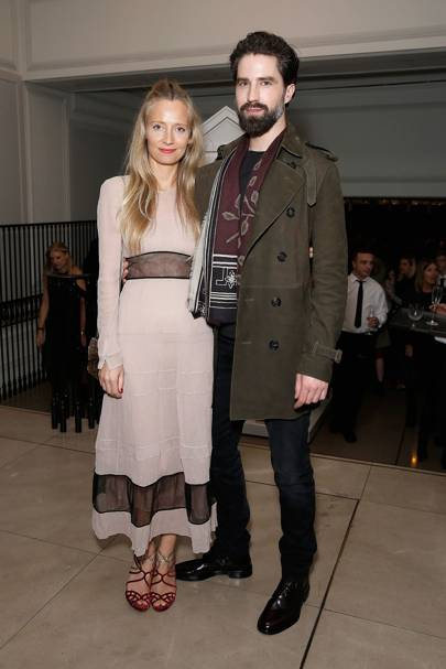 Martha Ward and Jack Guinness