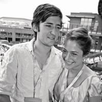 Geordie Naylor-Leyland and Vanessa Garwood
