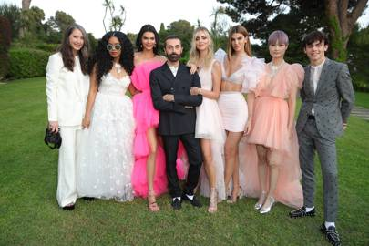 Kendall Jenner debuts Giambattista Valli for H&M at Cannes