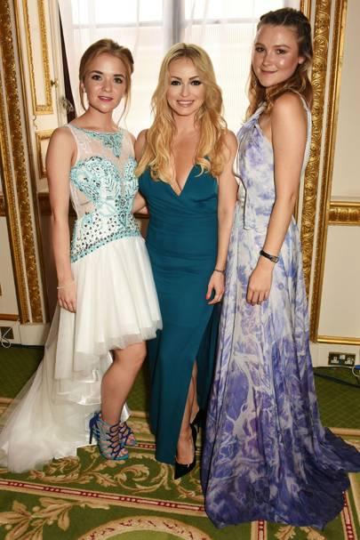 Lorna Fitzgerald, Ola Jordan and Amber Atherton