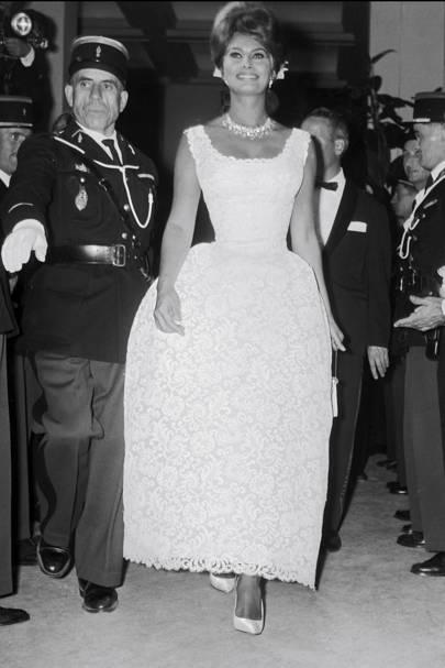 Sophia Loren in 1961