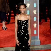 Letitia Wright in Gucci