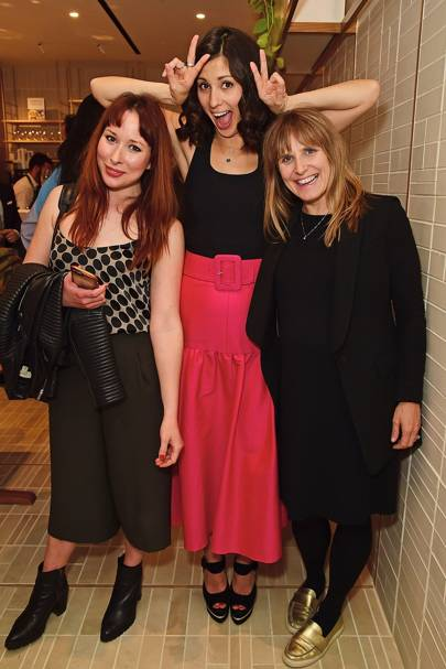 Taylor Kelly, Joan Murphy and Jasmine Hemsley