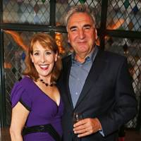 Phyllis Logan and Jim Carter