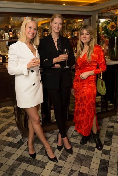 Misha Nonoo, Olivia Hunt and Matilda Goad