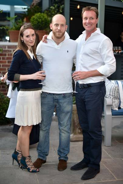 Alexandra Edwards, Carlo Carello and Henry Beckwith