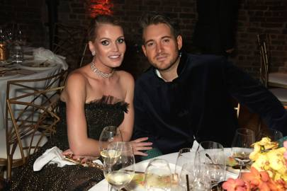 Lady Kitty Spencer and Tatler's Editor Richard Dennen