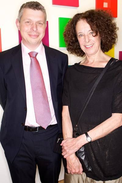 Richard Davey and Tess Jaray