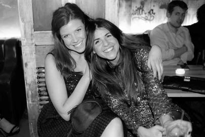 Lizzie Calow and Eve Jones