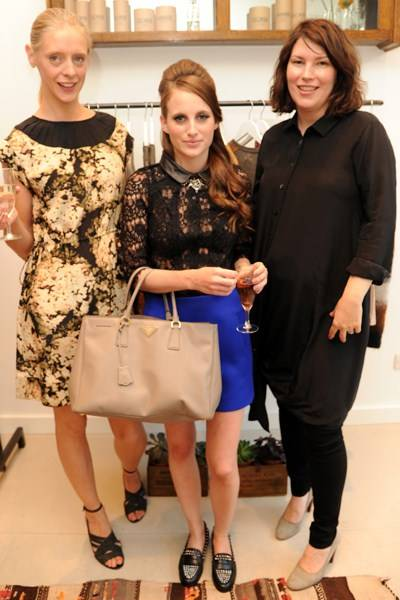 Kate Allden, Rosie Fortescue and Jane Ellis