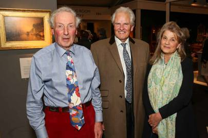 Keith Grant-Peterkin, Viscount Lifford and Viscountess Lifford