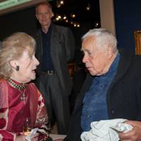 Sir Howard Hodgkin and Della Howard