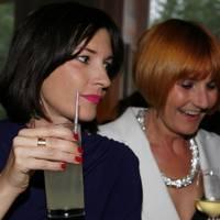 Melanie Rickey and Mary Portas