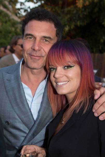 Andre Balazs and Lily Allen