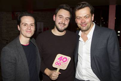 Andrew Scott, George Perrin and Simon Stephens