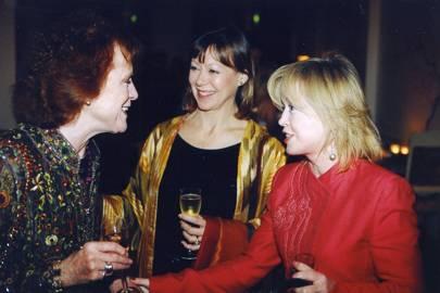 Judy Parfitt, Jenny Agutter and Angharad Rees
