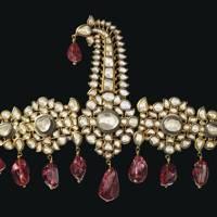 Diamond and spinel turban ornament, circa 1800-1850.