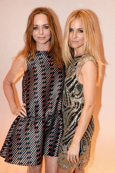 Stella McCartney and Sienna Miller