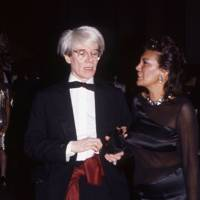 Andy Warhol and Carmen d'Alessio