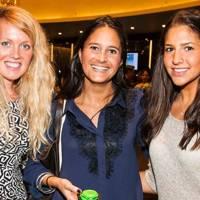 Claire Mans, Natalie Lewis and Nicole Samson