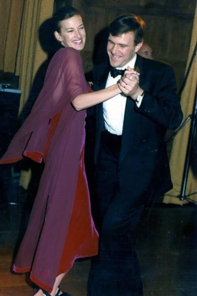 Mrs Harry Nuttall and Simon Gimson