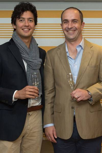 Arthur de Lencquesaing and Romain Herbelot
