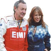 Nick Mason and Mrs Nick Mason