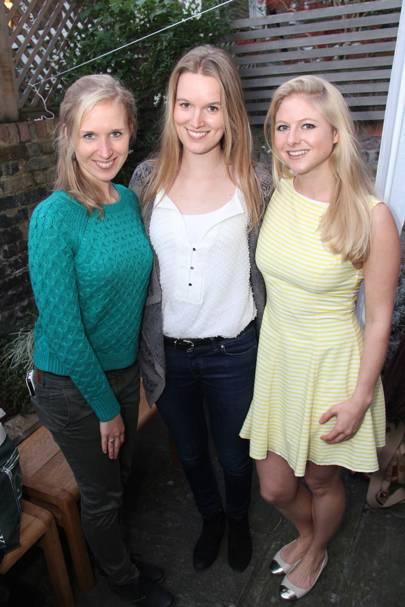 Feline Bol, Laura Fleur Round and Lotte Brouwer