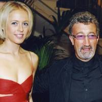 Lady Alexandra Spencer-Churchill and Eddie Jordan