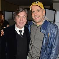 George Condo and Marc Quinn